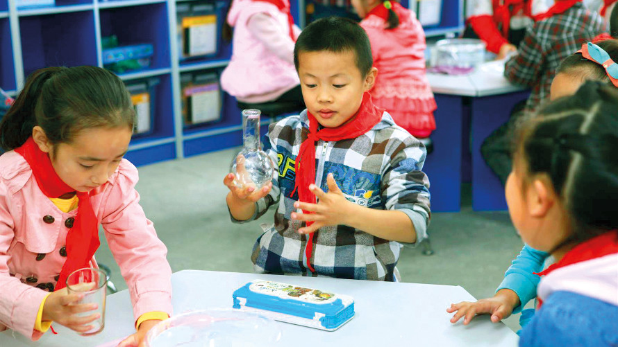 Little Scientist Labs for pupils in China
