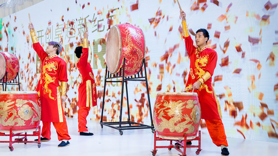 PM3 Grand Opening celebrated at Changshu mill