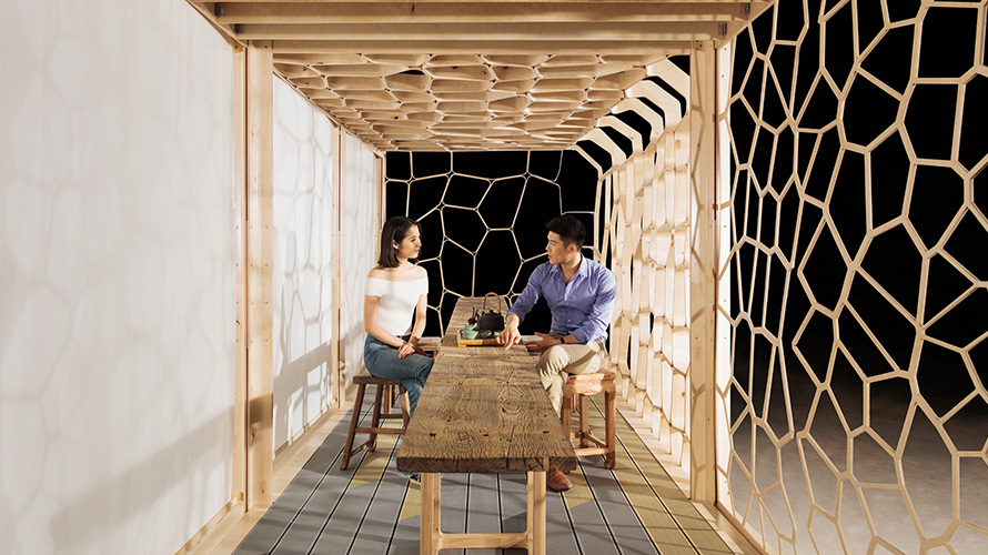 The Biofore Tea House is the right place for bright ideas