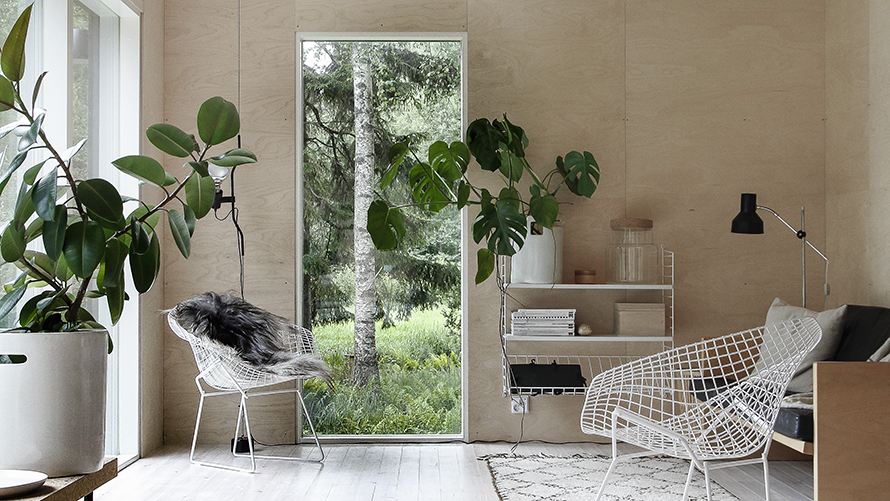 Wood adds warmth to interior design