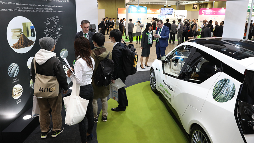 New applications of bioeconomy attract EcoPro visitors in Tokyo