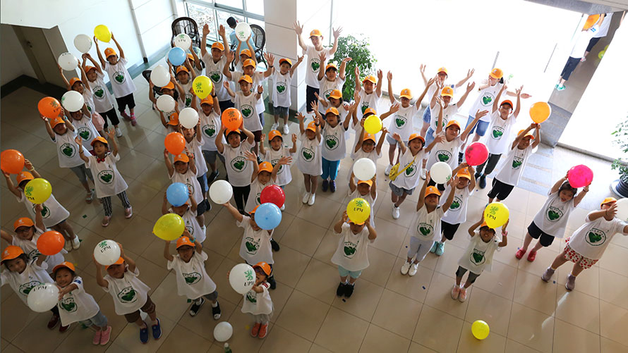 """UPM volunteers help teach the younger generation about a """"Green Future"""""""