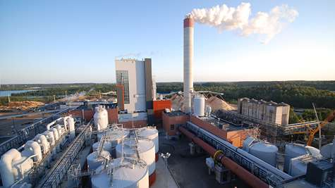 UPM Kymi pulp and paper mill at a new level of efficiency – renewable energy as a byproduct