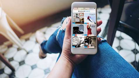 Online commerce goes mobile